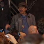 Carlos Santana exiting VIP area 2