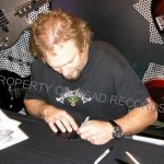 Michael Anthony Autograph session