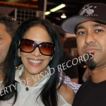 Sheila E and brother Pete