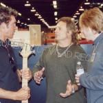 VIP area - George Lynch, Michael Anthony, Jeff Pilson