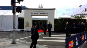 Grammy Red Carpet Entrance
