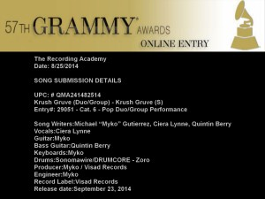grammy sub 8.25 Official